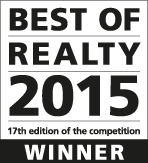 P3 wins the Best of Realty award for VF Corporation project