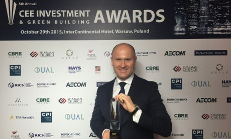P3 wins CEE warehouse investor of the year award