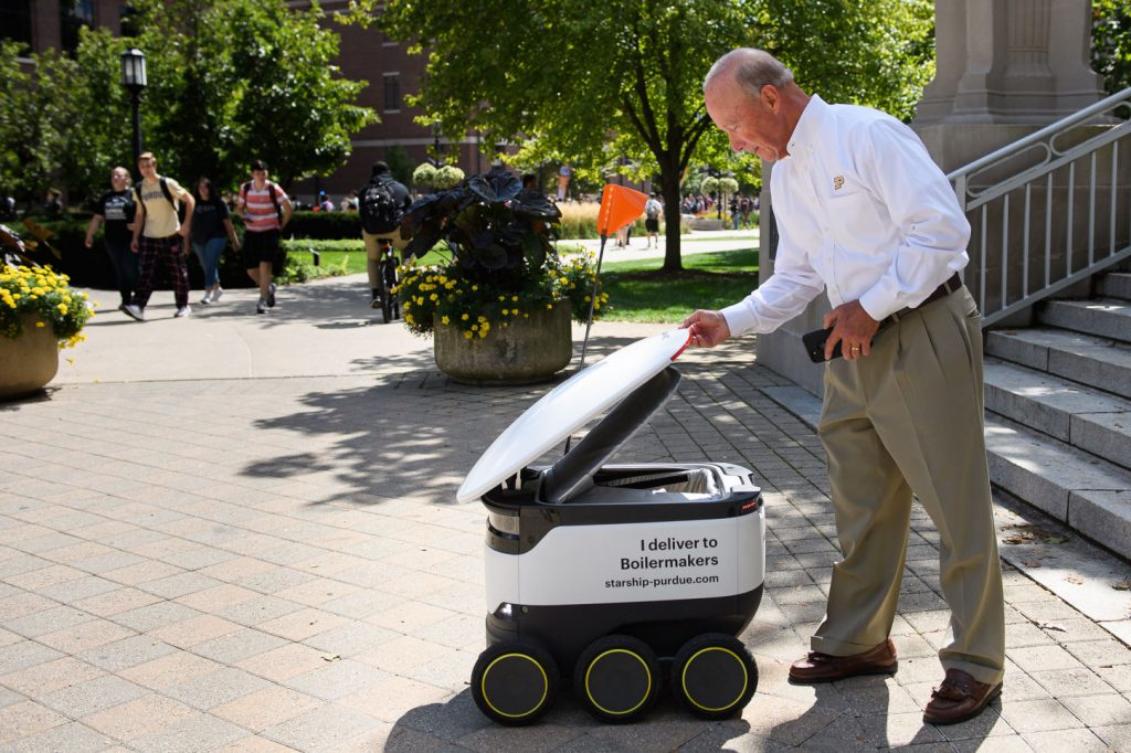 Field Report: Starship Delivery Robots a Hit at Purdue University
